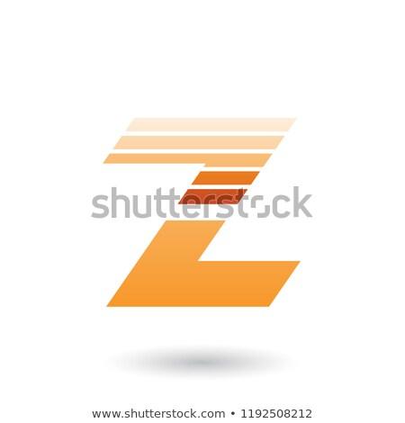 Arancione orizzontale vettore Foto d'archivio © cidepix