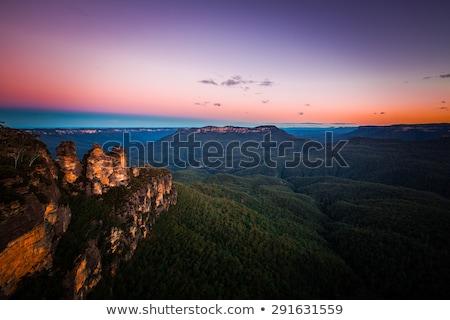 Sunset views  Katoomba Stock photo © lovleah
