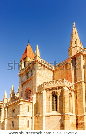 Saint Mary the Ancient Church in Valladolid Stock photo © benkrut