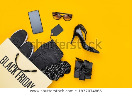 ブーツ · 黒白 · 実例 · デザイン · 黒と白の · 漫画 - ストックフォト © netkov1