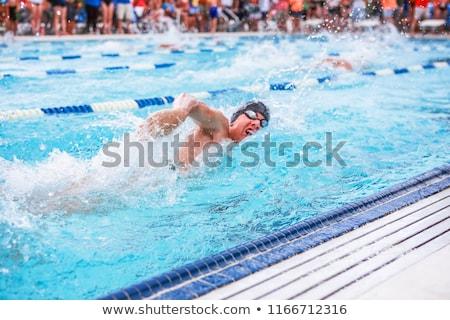 Relay Swim Team Swimmer Man Stock photo © cteconsulting