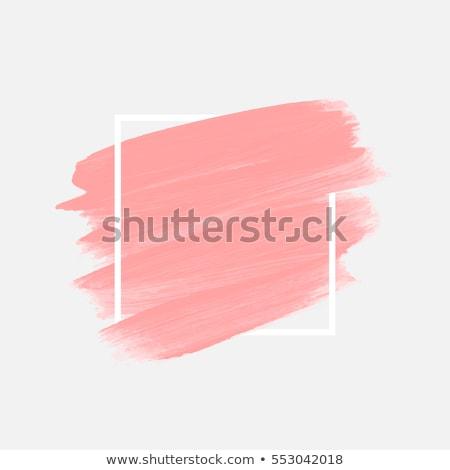 Stichting borstel grafisch ontwerp sjabloon vector geïsoleerd Stockfoto © haris99