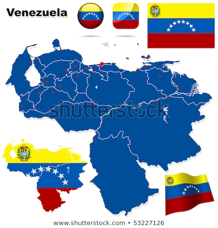 Bolivarian Republic of Venezuela flag Stock photo © grafvision