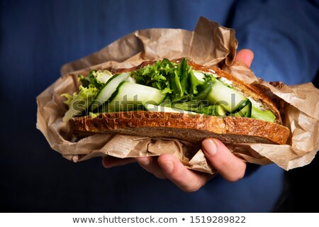 Offering sandwiches Stock photo © pressmaster