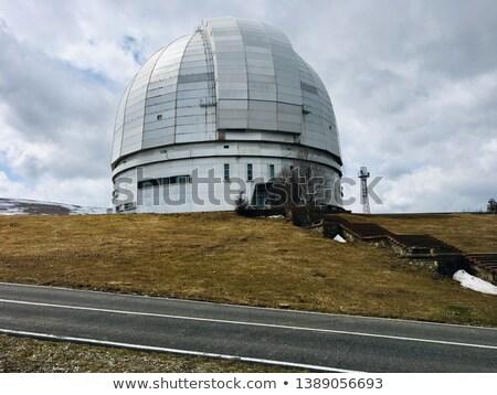 abandoned observatory stock photo © benkrut