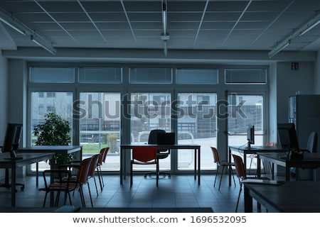 Empty office room during corona virus pandemic Stock photo © Giulio_Fornasar