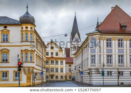 Leonrodplatz square, Eichstatt, Germany  Stock photo © borisb17
