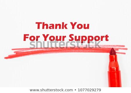 Palavra bondade azul marcador mão Foto stock © ivelin