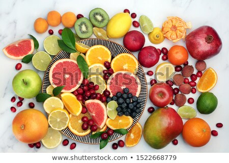 Large Healthy Fruit Collection Stock photo © marilyna