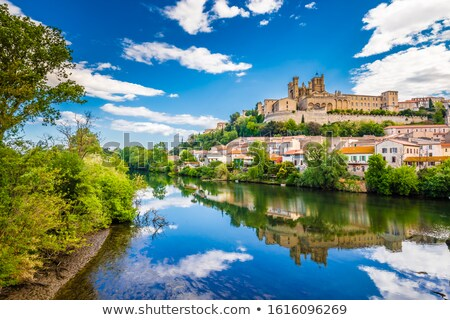 churches of Beziers Stock photo © cynoclub