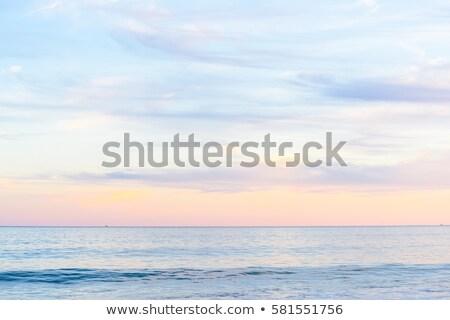 Stock fotó: Fantasztikus · nap · tenger · jókedv · napsugarak · fölött