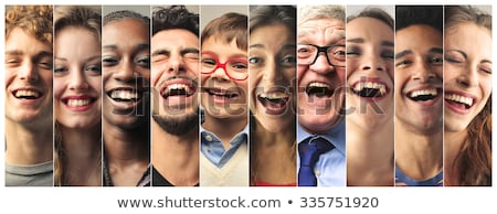 Smiling friendly businessman Stock photo © lovleah
