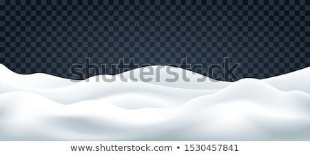 vent · neige · modèle · naturelles · texture · nature - photo stock © skylight