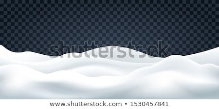 雪 風 パターン ストックフォト © skylight