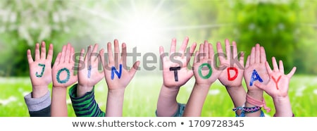 Join today Stock photo © bbbar