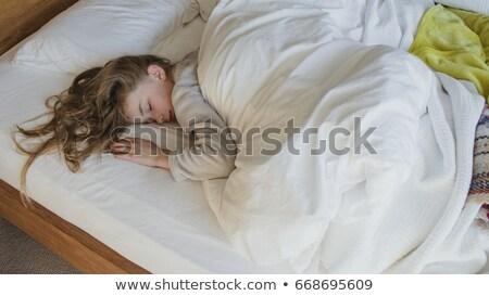 Little girl fast asleep Stock photo © photography33