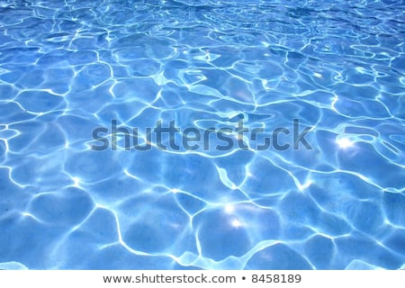 Most beautiful clear pool water reflecting in the sun Stock photo © H2O