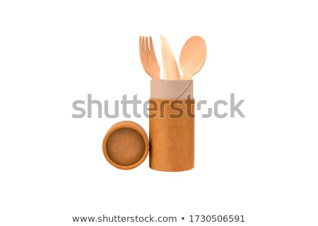 Rodar desechable papel agua cocina industrial Foto stock © photography33