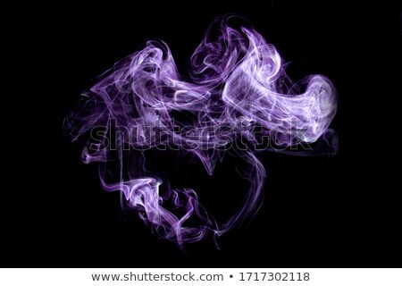 colored smoke in black back Stock photo © prill