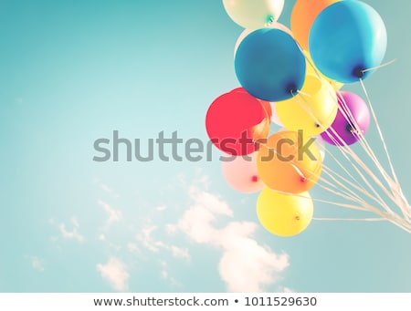 Colorful Party Celebration Balloons in Sky Stock photo © HaywireMedia