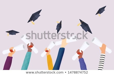 diploma in hand  Stock photo © Pakhnyushchyy