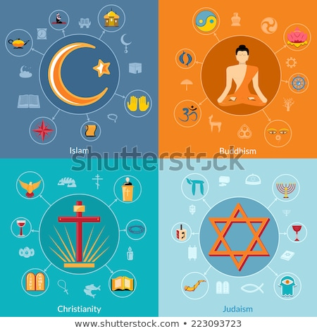 Industry Icons: Religion Stock photo © Vectorminator