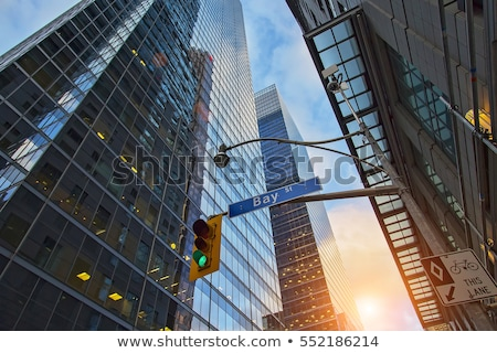 Rue Toronto vue up centre-ville Canada Photo stock © blamb
