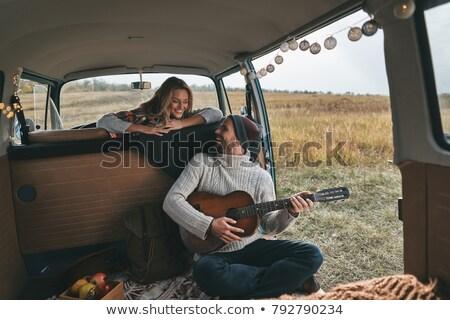 I love my guitar Stock photo © photography33