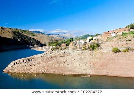 Mansilla Barrier, La Rioja, Spain Stock photo © phbcz