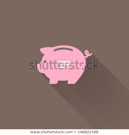 Pig Pink And Euro Photo stock © ussr