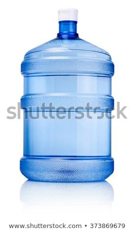 groot · fles · water · pad · geïsoleerd · witte - stockfoto © shutswis