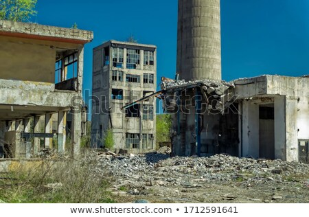 industrial remains Stock photo © prill
