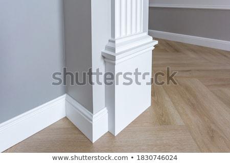 Pintado estuco luz gris concretas pared Foto stock © Stocksnapper