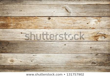 Resistiu madeira piso de madeira construção abstrato projeto Foto stock © nelsonart