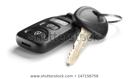 Car keys isolated on white Stock photo © elenaphoto