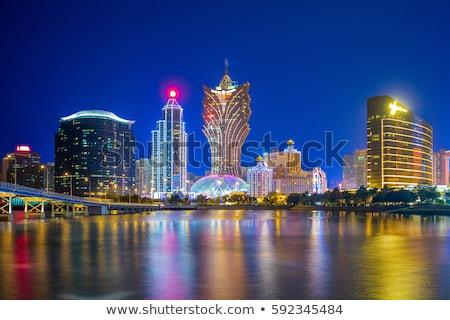 Skyline of Macau stock photo © joyr