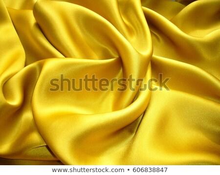 Amarelo cetim textura moda Foto stock © deyangeorgiev