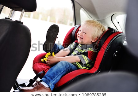 young child booster seat for a car stock photo © gewoldi