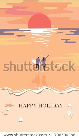 sun over ocean stock photo © iofoto