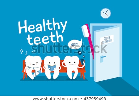 sitting tooth stock photo © derocz