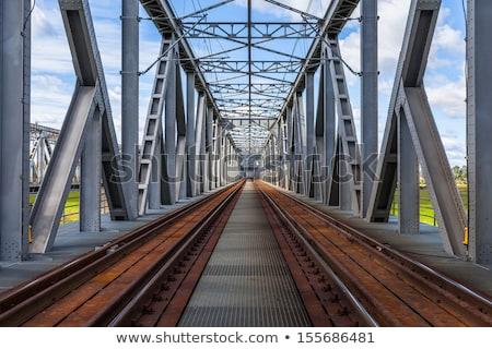 鉄道 · 橋 · 金属 · 観点 · 表示 · 抽象的な - ストックフォト © goce