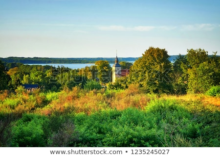 famous small village church  in Benz  Stock photo © meinzahn
