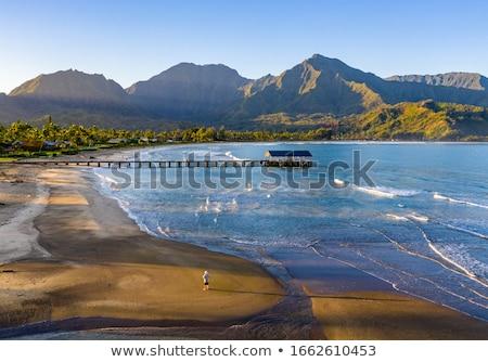 Panoráma sziget hegy terjedelem hajnal emelkedő Stock fotó © backyardproductions