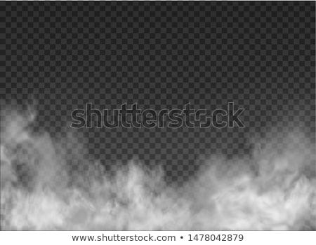 пламя · дым · фрактальный · иллюстрация · дизайна · фон - Сток-фото © andromeda