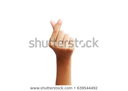 руки · стороны · знак - Сток-фото © dgilder