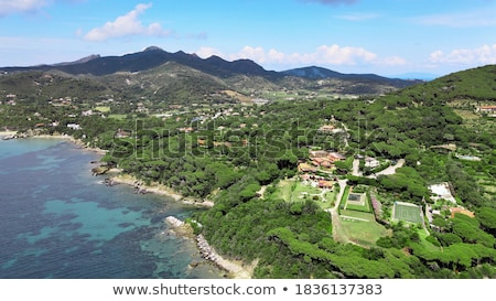Elba island - Marina di Campo Stock photo © Antonio-S