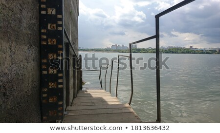 Building on the scale  with ocean view stock photo © tanya_ivanchuk