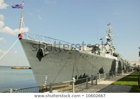 World War II ship of Canada Stock photo © MIRO3D