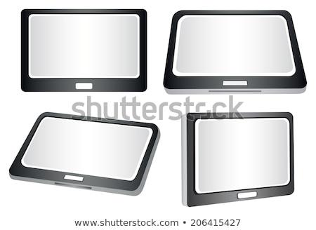 Blank slanted tablet  Stock photo © tang90246