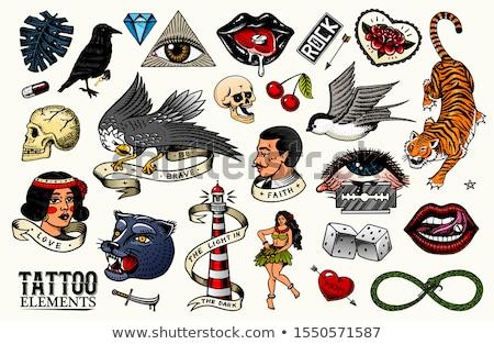 love diamond banner vector illustration stock photo © carodi